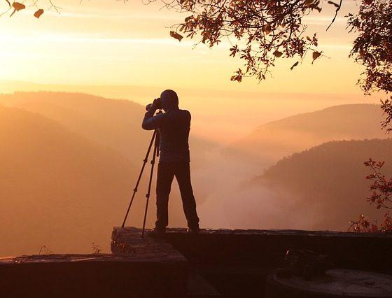 ทริคการถ่ายภาพพระอาทิตย์ขึ้น