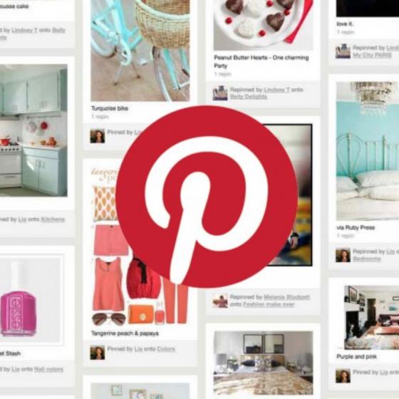 รูปแบบ โซเชียลมีเดียล ของ Pinterest