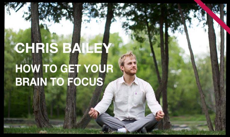How to Get Your Brain to Focus | Chris Bailey | TEDxManchester เรื่องทั่วไป เกร็ดความรู้รอบตัว สาระน่าสนใจ