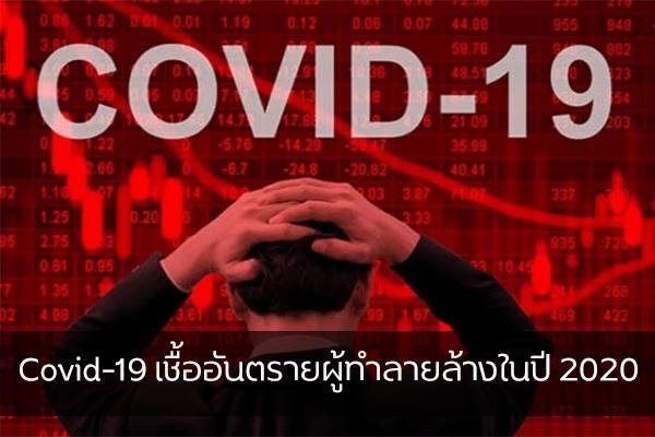 Covid-19 เชื้ออันตรายผู้ทำลายล้างในปี 2020 เรื่องทั่วไป เกร็ดความรู้รอบตัว เทคนิคต่างๆ สาระน่าสนใจ Covid-19